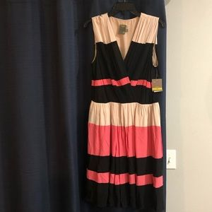 NWT Taylor Pleated Dress